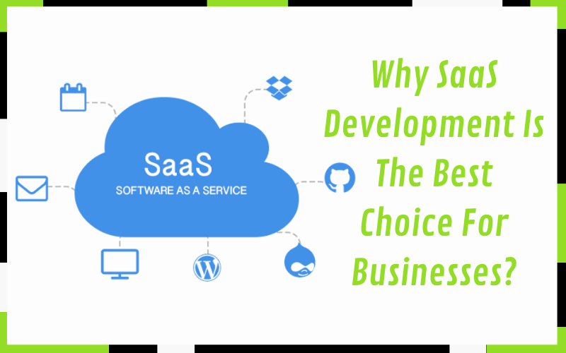 Why SaaS Development Is The Best Choice For Businesses?