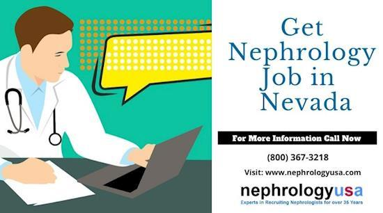 Get Nephrology job in Nevada