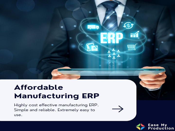 Why do you need ERP software for your manufacturing industry?