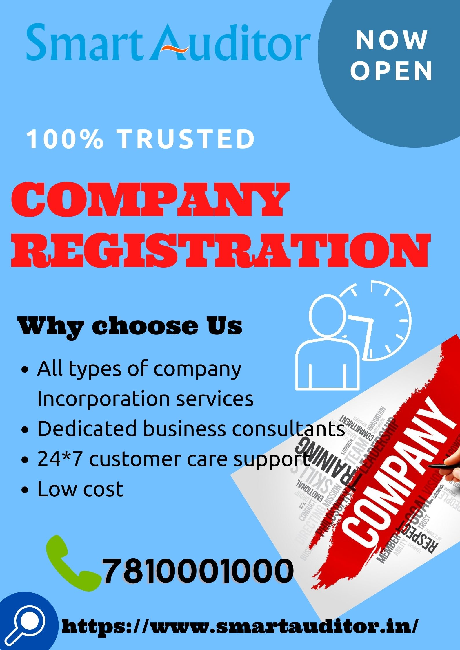 Get Company Registration in Salem at low cost