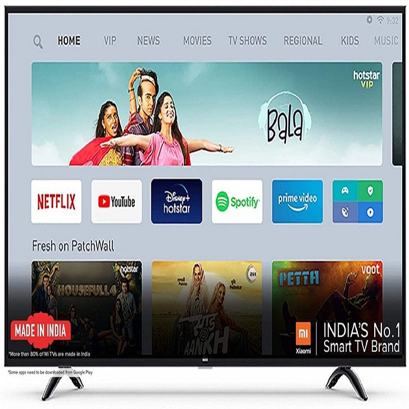 MI TV 4X Ultra HD Android LED TV (Black) Online