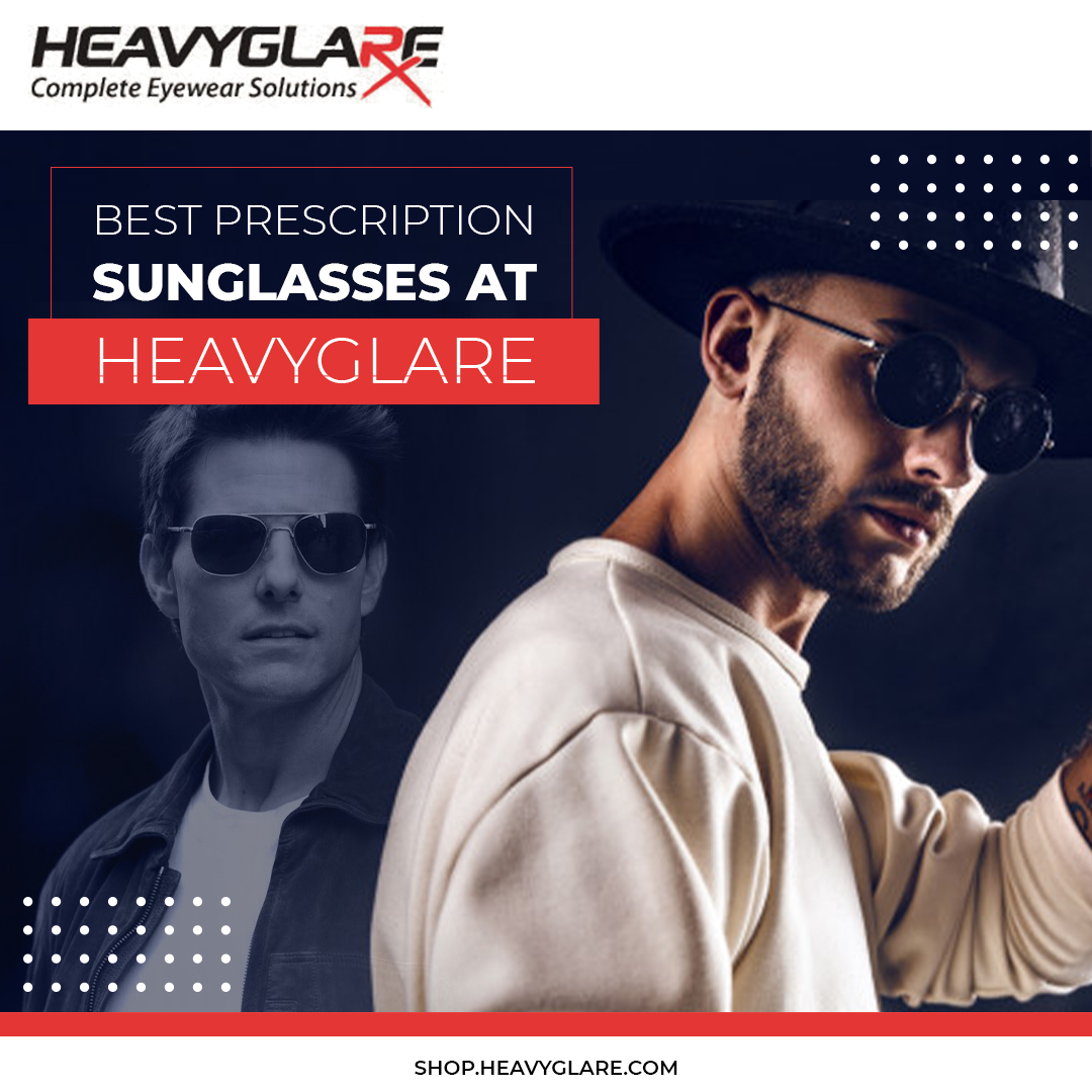Shop affordable ranges of prescription sunglasses at Heavyglare