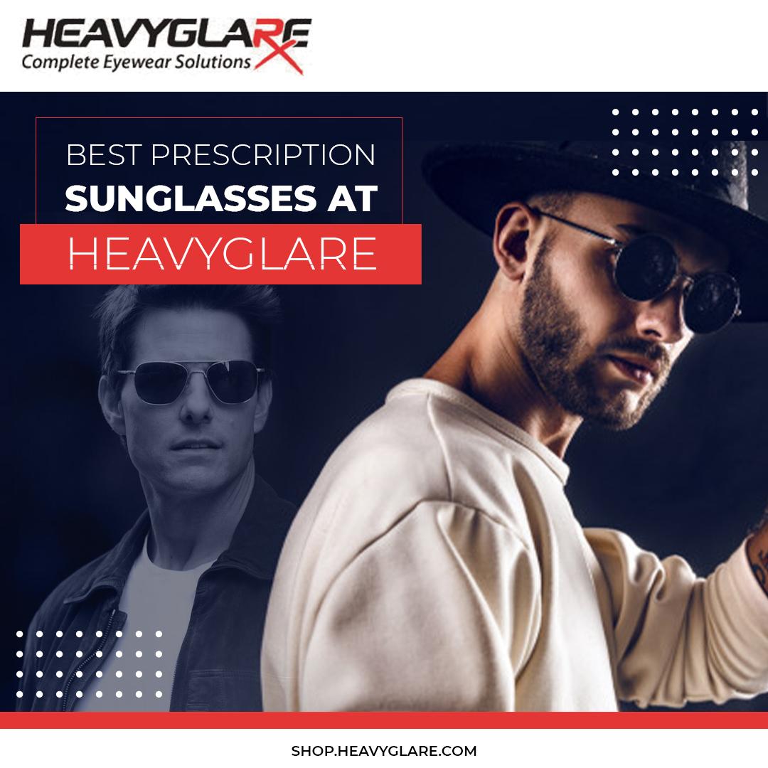 Shop affordable ranges of prescription sunglasses at Heavyglare