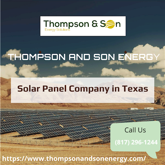 Best Solar Panel Company in Texas