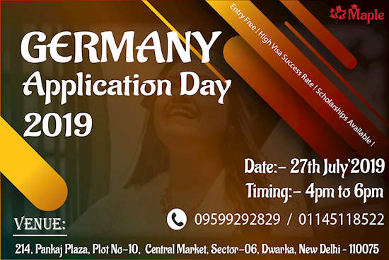 Germany Application Day - 27th July'19