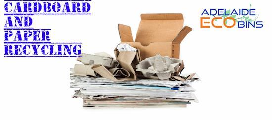 Get The Best Paper And Cardboard Recycling Services Online – Try Adelaide Eco Bins!