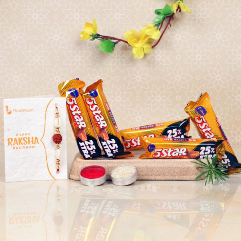 Send Rakhi to USA Online from India with Rakhimela Express Delivery