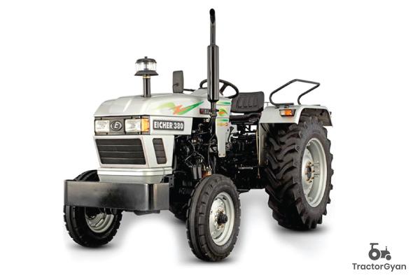 Eicher 380 Super DI Mileage in India 2021| Tractorgyan