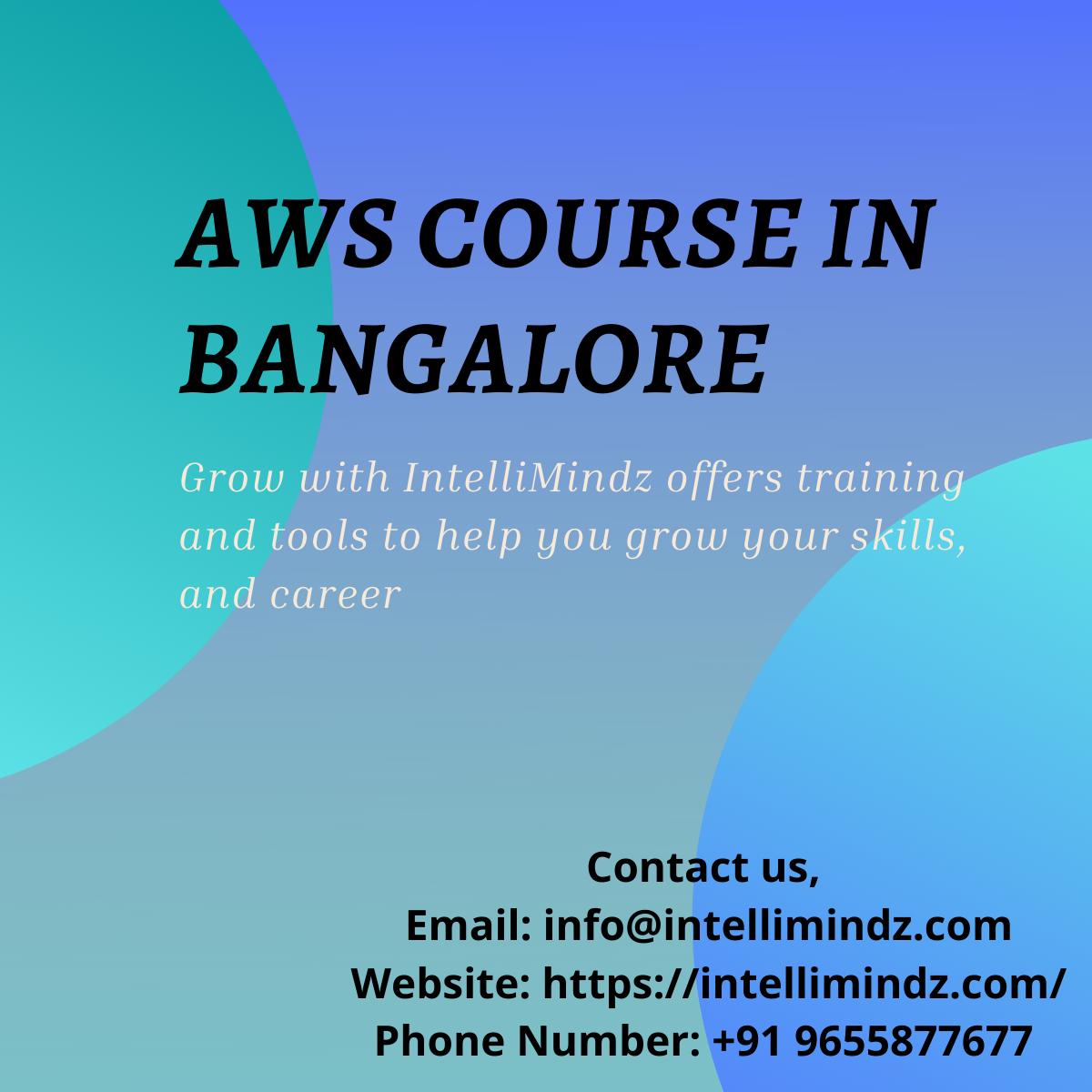 AWS Course in Bangalore