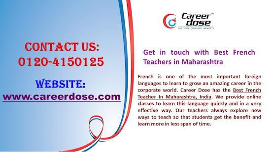 Best French Teachers in Maharashtra for your child