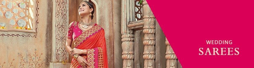 Elegance Never Goes out of Style with Ninecolours' Wedding Saree