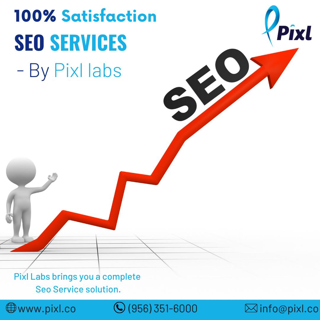 Trusted SEO Service Provider in Laredo – Pixl Labs