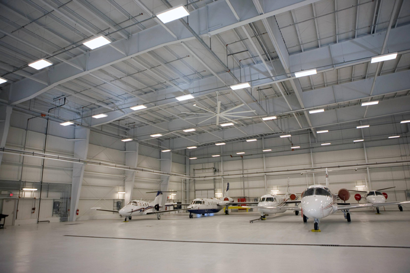 Why are the Aircraft Hangars Constructed with Steel Structure? Ho