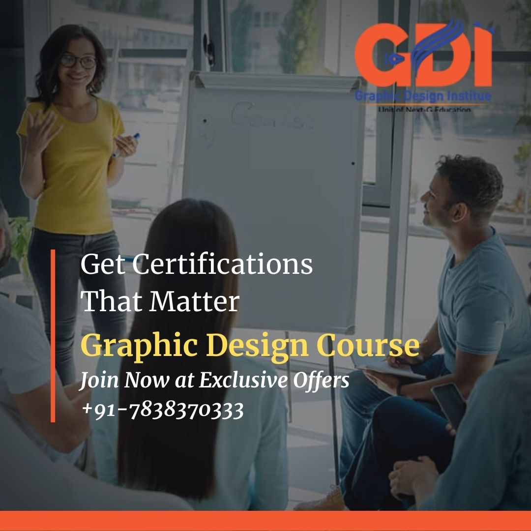 Certificate Course in Graphic Design