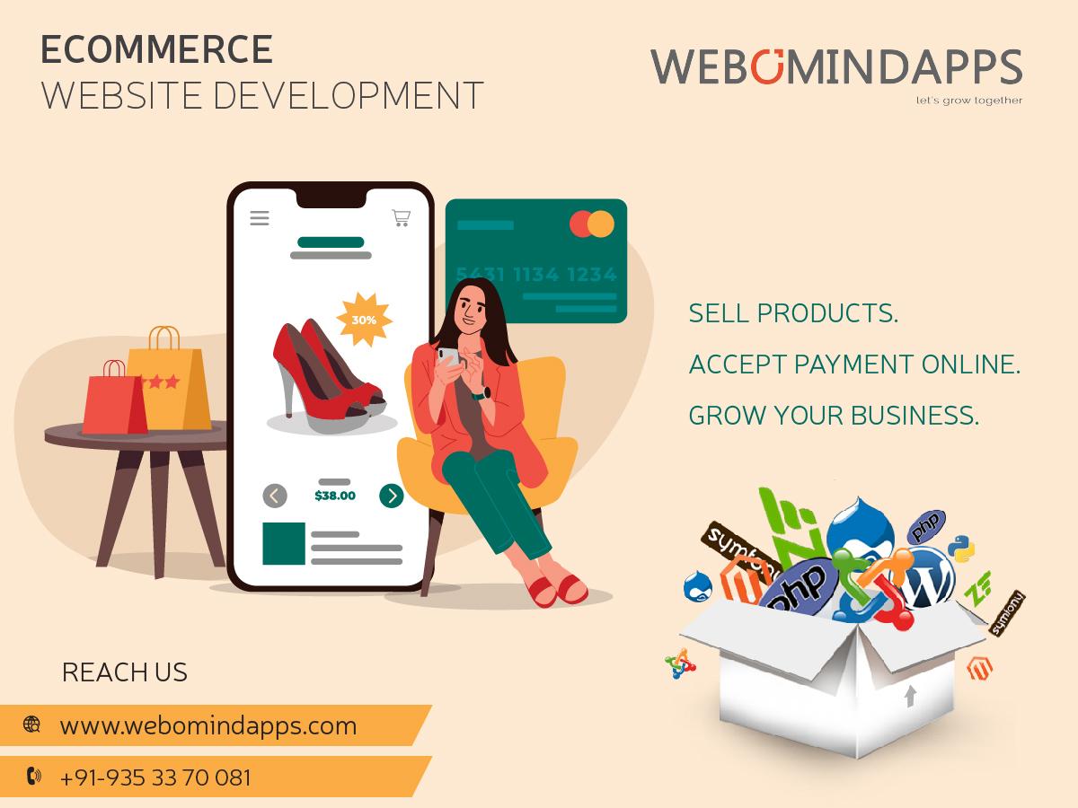 eCommerce Website Development Services - Webomindapps