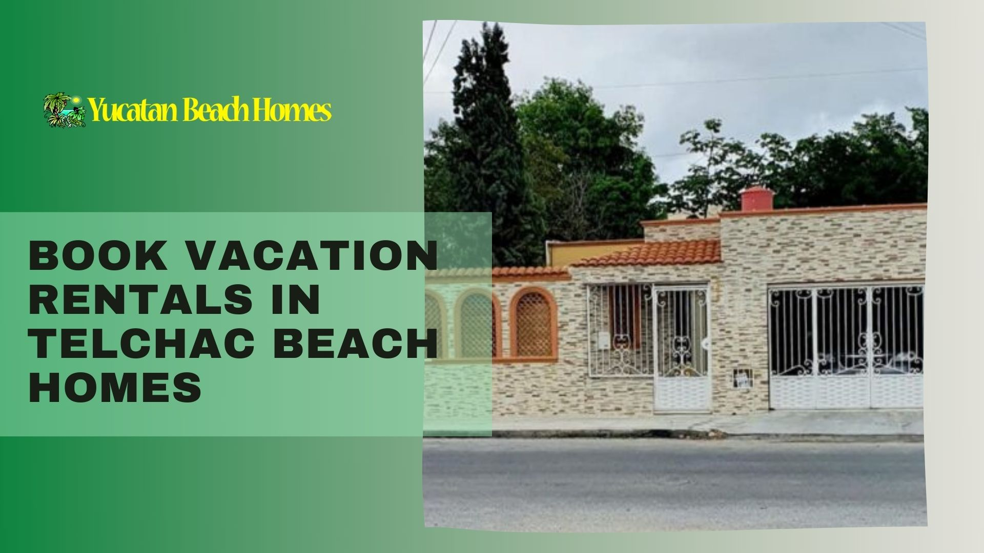 Book Vacation Rentals in Telchac beach homes