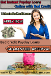 Bad Credit Payday Loans Logo