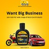 Car Cleaning Products | car care products manufacturers indi Logo