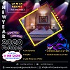 New Year Party 2020 in Mussoorie Logo