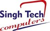 SINGHTECH COMPUTERS Logo