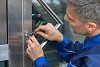 A 24 Hour Locksmith Service Is Noble Logo