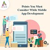 Appsinvo - Points You Must Consider While Mobile App Develop Logo