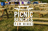 Picnic Benches for Hire Logo