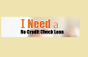 No Credit Check Loans- Get Fast Approval For A Loan Logo