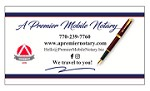 A Premier Mobile Notary Icon