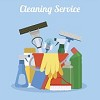 A Creative View Cleaning Service Icon