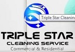 Triple Star Cleaning Icon