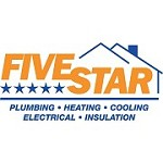 Five Star Plumbing Heating Cooling Icon
