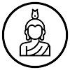 Statue Du Bouddha Icon