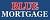 Blue Mortgage Icon