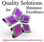 Quality Solutions for Business Excellence Icon