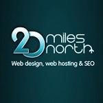 20 Miles North Web Design Icon
