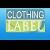 Clothing Label Icon
