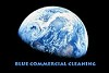 Blue Commercial Cleaning Icon