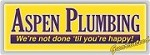 Aspen Plumbing and Rooter Icon