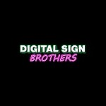 Digital Sign Brothers Icon