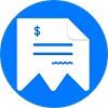 Moon Invoice Icon