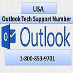 1-800-853-9701 Outlook Technical Support Phone Number Icon