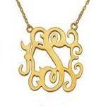 Monogram Necklace Icon