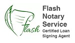Flash Notary Services Icon