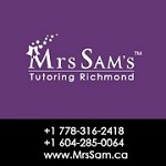 Tutoring Richmond – Mrs Sam Icon