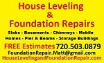Mobile Home Leveling and Foundation Repair