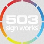 503 Sign works Icon