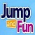 Jump and Fun Icon