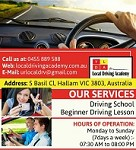 Local Driving School Melbourne | Local Driving Academy