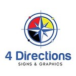 4 Directions Signs & Graphics Icon